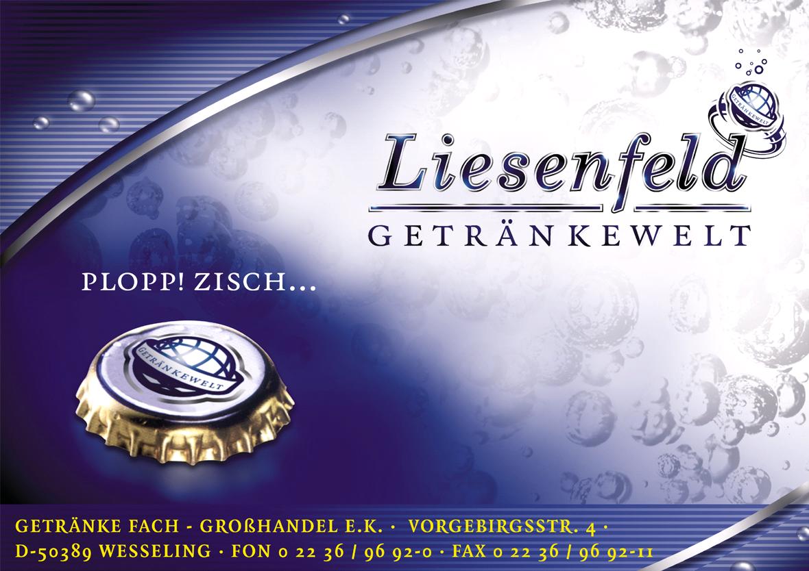 Liesenfeld Getränkewelt | Ihre Getränke-Fach-Grosshandlung in Wesseling